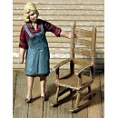 S SCALE 2 ROCKING CHAIRS KIT