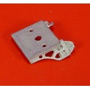 On3/On30 SMALL LOCOMOTIVE FANCY HEADLIGHT BRACKET
