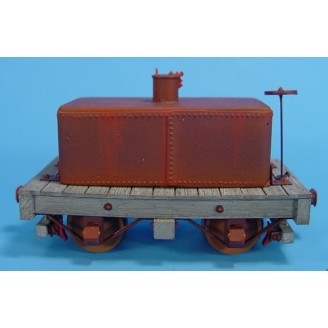 On3/On30 BACKWOODS LOGGING OR MINING 4 WHEEL TANK CAR TYPE 1 KIT