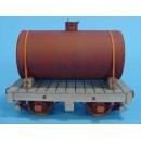 On3/On30 BACKWOODS LOGGING OR MINING 4 WHEEL TANK CAR TYPE 3 KIT