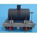 On3/On30 BACKWOODS LOGGING OR MINING 4 WHEEL TANK CAR TYPE 4 KIT