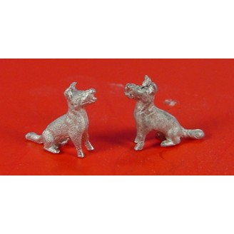 O SCALE 1/48 SMALL DOGS OR PUPPIES