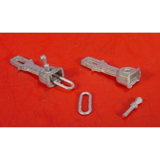 On3/On30 LINK & PIN STYLE COUPLERS, FIT KADEE #4 STYLE COUPLER BOX