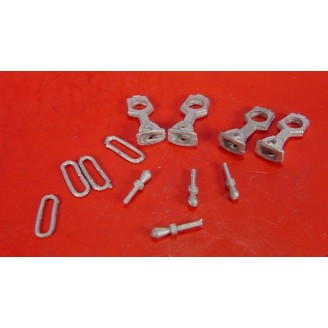 On3/On30 SHORT SHANK LINK & PIN COUPLERS FOR BACHMANN DUMP CARS