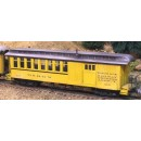 On3/On30 D&RGW COMBINE PASSENGER CAR KIT