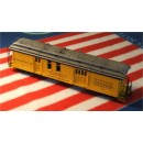 On3/On30 D&RGW OPEN PLATFORM RPO/BAGGAGE CAR KIT