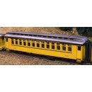 On3/On30 D&RGW CLOSED VESTIBULE PASSENGER CAR KIT