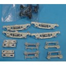 On3/On30 D&RGW PASSENGER CAR TRUCKS KIT TYPE 1
