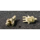 O SCALE /On3/On30 FORKED SHANK COUPLER KNUCKLES FOR LOCOMOTIVES AND TENDERS