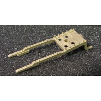 O SCALE /On3/On30 D&RGW C-16 PILOT FOOT OR DECK PLATE