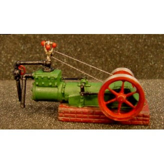 SMALL SHOP OR MILL HORIZONTAL STEAM ENGINE