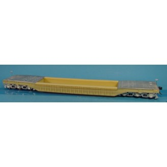 O SCALE NYC/C&O, OTHERS 62' WELL HOLE HEAVY DUTY FLAT CAR KIT