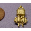 HO BRASS IMPORT NEW YORK STYLE COMPOUND AIR PUMP