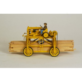 O SCALE WILLAMETTE STRADDLE LUMBER CARRIER KIT