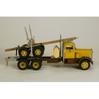 O SCALE MODERN VERSION LOG TRUCK CONVERSION KIT FITS REVELL HONEST JOHN MISSILE CARRIER KENWORTH