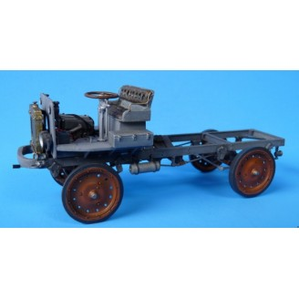 O SCALE 1/48 NASH QUAD TRUCK BARE CHASSIS KIT