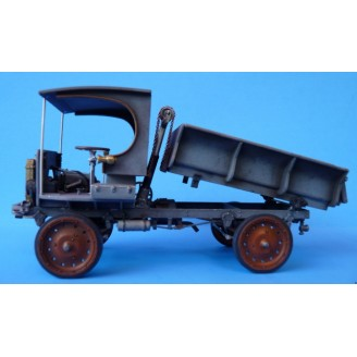 O SCALE NASH QUAD C-CAB DUMP TRUCK KIT