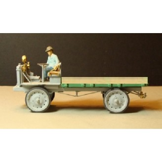 O SCALE 1/48 NASH QUAD FLAT BED TRUCK KIT