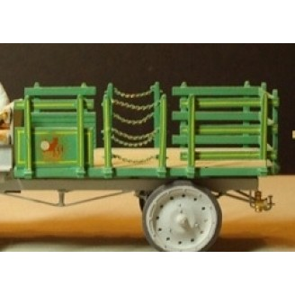 O SCALE 1/48 STAKE TRUCK BED KIT FOR NASH QUAD AND OTHERS