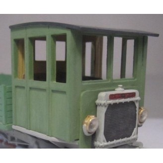 O SCALE 1/48 FULL CLOSED CAB KIT FOR NASH QUAD AND OTHERS