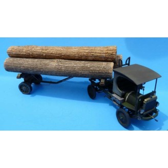 O SCALE 1/48 NASH QUAD LOG TRUCK KIT