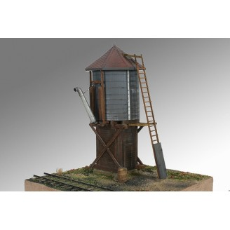 S SCALE Sn3 D&RGW JACK'S CABIN WATER TANK KIT