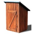 S SCALE Sn3 WOODS OUTHOUSE KIT