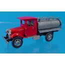 KLEIBER CLOSED CAB OVAL TANK TRUCK