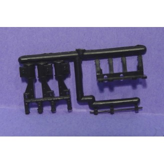 ROUNDHOUSE SHAY 3 CYLINDER ENGINE PARTS SPRUE