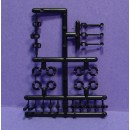 ROUNDHOUSE SHAY ENGINE PARTS AND UNIVERSAL JOINTS PARTS SPRUE