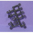 ROUNDHOUSE SHAY AXLE, LINESHAFT, GEARBOX GEAR SET SPRUE