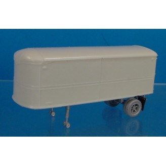 HO SCALE FRUEHAUF AEROVAN 24' TRAILER KIT