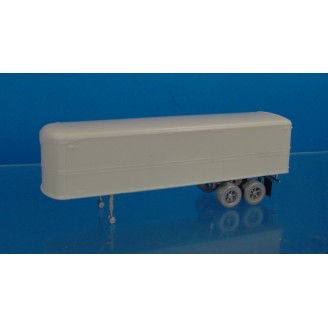 HO SCALE FRUEHAUF AEROVAN 32' TRAILER KIT
