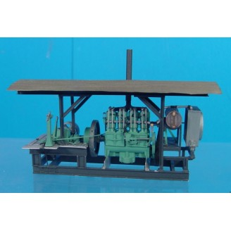 O SCALE HOLT 75 STATIONARY ENGINE POWER UNIT