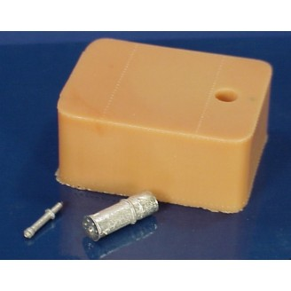 O SCALE RECTANGULAR OIL TANK FOR BUILDING OR FLAT CAR