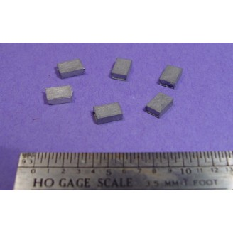 HO/HOn3 DETAIL PARTS:  SMALL CRATES