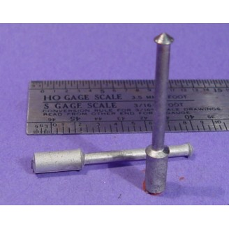 S SCALE / Sn3 DETAIL PARTS : ROOF STOVE PIPES