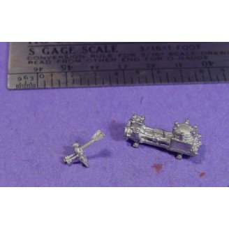 S SCALE / Sn3 DETAIL PARTS : FAIRBANKS MORSE STEAM PUMP