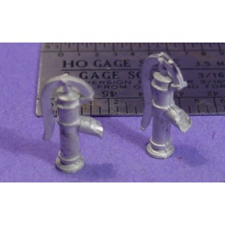 S SCALE / Sn3 DETAIL PARTS : OUTDOOR WELL WATER PUMPS