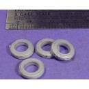 S SCALE / Sn3 DETAIL PARTS : TRUCK TIRES