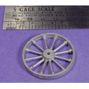 S SCALE / Sn3 DETAIL PART : LARGE MINE SHEAVE PULLEY