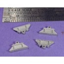 S SCALE / Sn3 DETAIL PARTS : LARGE BEARING BLOCKS