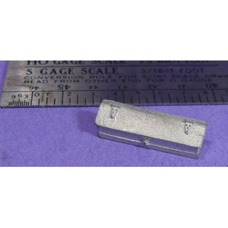 S SCALE / Sn3 DETAIL PARTS : LOCOMOTIVE OR SHOP TOOL BOX