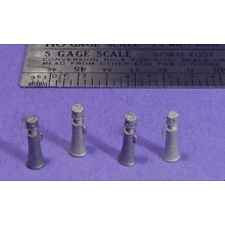 S SCALE / Sn3 DETAIL PARTS : BOTTLE TYPE SCREW JACKS