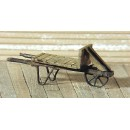 S SCALE / Sn3 DETAIL PARTS : FLATBED WHEEL BARROW CART KIT