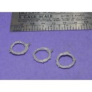 S SCALE / Sn3 DETAIL PARTS : LARGE WIRE COILS