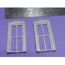 S SCALE / Sn3 DETAIL PARTS: D&RGW STYLE STATION WINDOWS