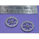 "O SCALE On3/On30 30"" MACHINERY FLYWHEELS"
