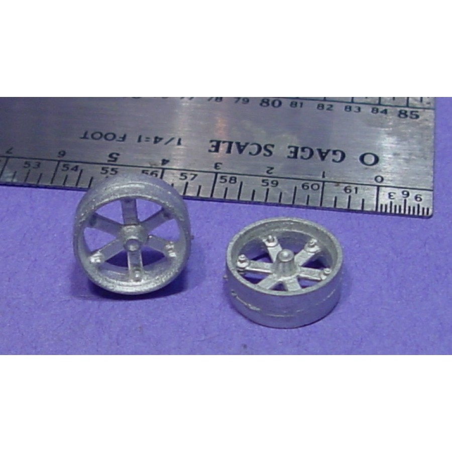 "O//On3//On30 1//48 WISEMAN MODEL SERVICES DETAIL PARTS O344 24/"" MACHINERY PULLEYS"