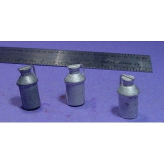 O SCALE On3/On30 1/48 LARGE MILK CANS